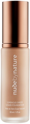 Nude By Nature Luminous Sheer Liquid Foundation C3 Café