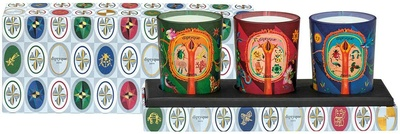 Diptyque Set of  3  Candles