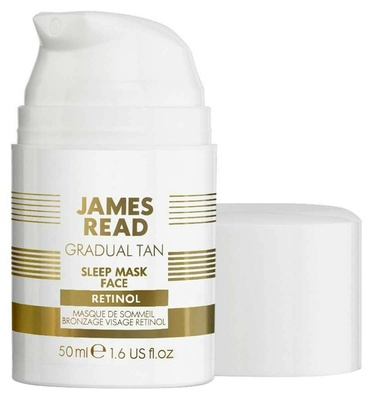 James Read Sleep Mask Tan Face Retinol