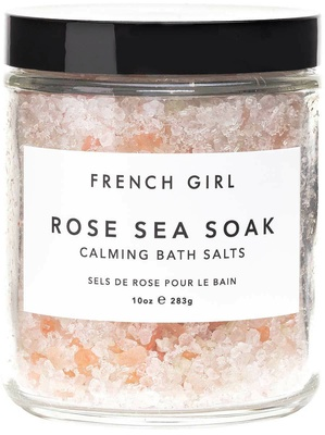 French Girl Rose Sea Soak - Calming Bath Salts