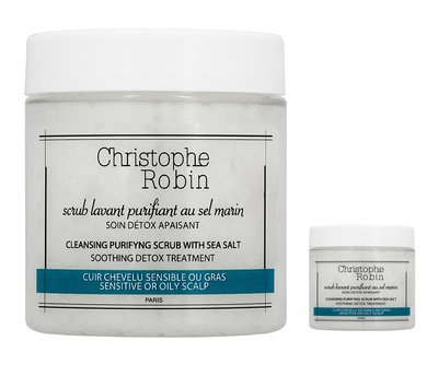 Christophe Robin Cleansing Purifying Scrub with Sea Salt Set