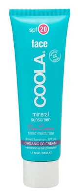 Coola® Mineral Face Tinted Moisturizer Spf 20 Rose Essence