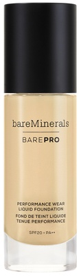 bareMinerals BAREPRO Liquid Foundation SPF 20 Cool Beige 10