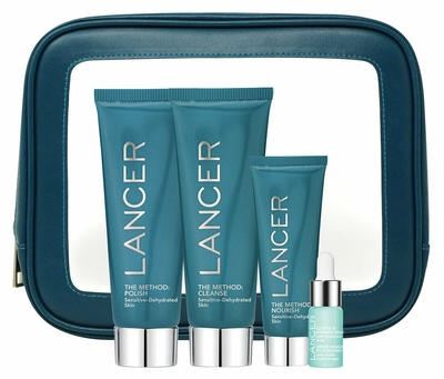 Lancer The Method Intro Kit Sensitive-Dehydrated Skin