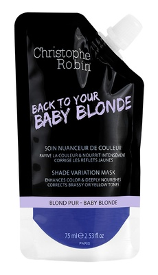 Christophe Robin Shade variation mask pocket Baby blonde