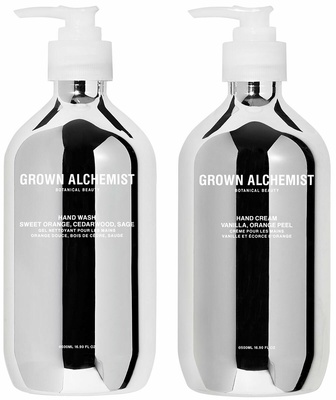 Grown Alchemist Silver Kit Hand Wash + Hand Cream 300 ml