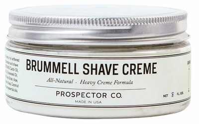 Prospector Co Brummell Shave Cream