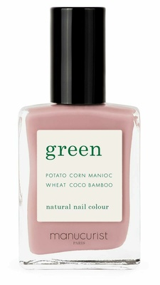 Manucurist Green Nail Lacquer Pink Satin