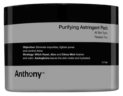 Anthony Purifying Astringent Toner pads