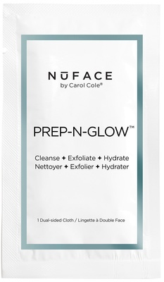 NuFace PREP-N-GLOW® Textured Cleansing Cloths