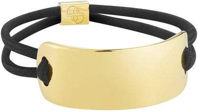 Deborah Pagani Solid Pill Hair Cuff Gold