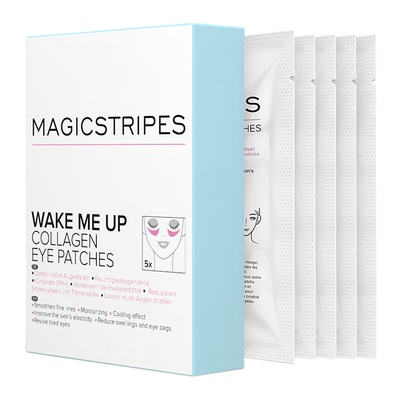 MAGICSTRIPES Magicstripes Wake Me Up Collagen Eye Patches