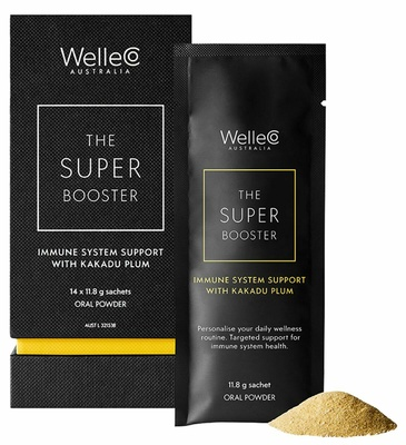 WelleCo Super Booster Immune System Support with Kakadu Plum