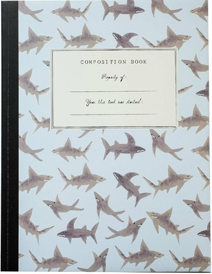 Mr. Boddington Sharks Composition Book