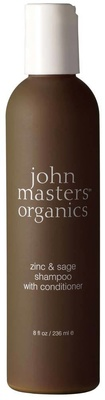 John Masters Organics Shampoo and Conditioner Zinc and Sage