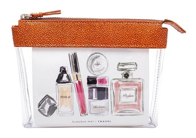 Claudia May Leder Travel Bag