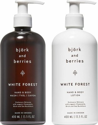 Björk & Berries White Forest Holiday Hand & Body Duo