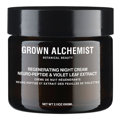 Grown Alchemist Regenerating Night Cream Repair Neuro Peptide and Violet Leaf Extract