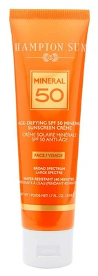 Hampton Sun Age Defying SPF50 Mineral for Face