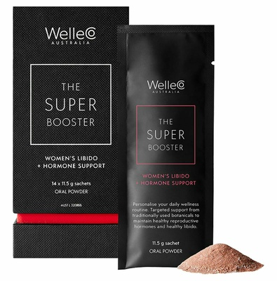 WelleCo Super Booster Women's Libido + Hormone Support