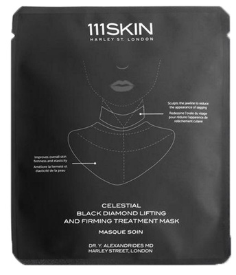 111 Skin Celestial Black Diamond Lifting and Firming Mask Neck
