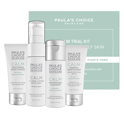 Paula's Choice Trial Kit Calm Redness Relief - Normal to Oily Skin
