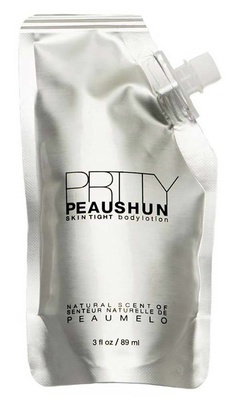Prtty Peaushun Skin Tight Body Lotion Travel Size Medium
