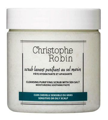 Christophe Robin Cleansing Purifying Scrub with Sea Salt 250 ml
