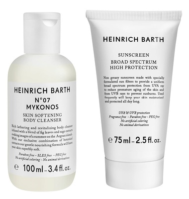 Heinrich Barth Shower & SPF Body Duo