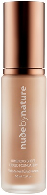 Nude By Nature Luminous Sheer Liquid Foundation W3 Natural Beige