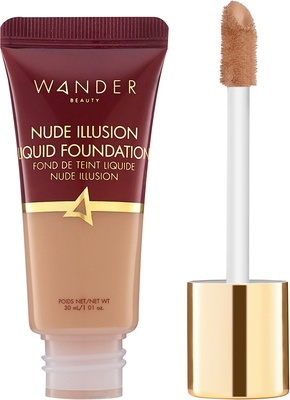 Wander Beauty Nude Illusion Liquid Foundation Medium