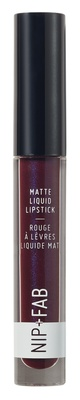 Nip + Fab Matte Liquid Lipstick After Hours Black Grape