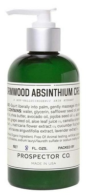 Prospector Co Wormwood Absinthium Cream