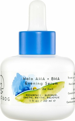 HoliFrog Halo AHA + BHA Evening Serum