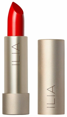 Ilia Color Block Lipstick Flame (Fire Red)