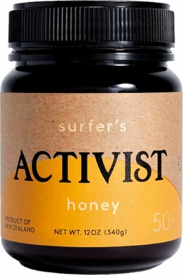 Activist Surfer's Honey Raw Manuka 50+MGO
