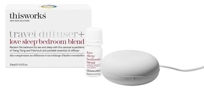 This Works Travel Diffuser + Love Sleep Bedroom Blend