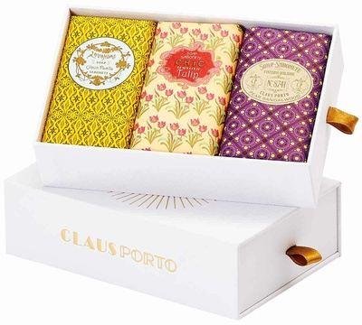Claus Porto Gift Box 3 Wax Sealed Soaps