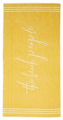 The Beach People Signature Towel Tuscan Yellow