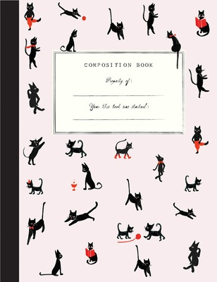 Mr. Boddington Cat Club Composition Book