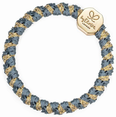 By Eloise Woven Gold Nugget Azure