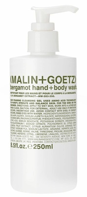 Malin + Goetz Bergamot Hand + Body Wash