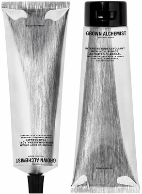 Grown Alchemist Silver Kit Intensive Body Exfoliant + Intensive Body Cream