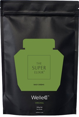 WelleCo WelleCo Super Elixir Greens - Pineapple and Lime