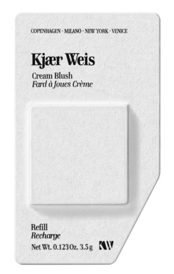 Kjaer Weis Cream Blush  Refill Blossoming - rosy pink refill