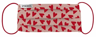 Iphoria Textile Face Mask - Hearts