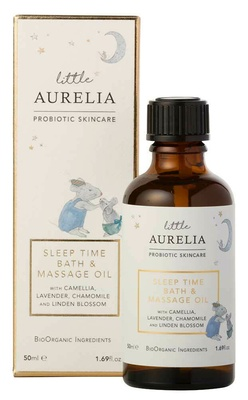 Aurelia Probiotic Skincare Sleep Time Bath & Massage oil
