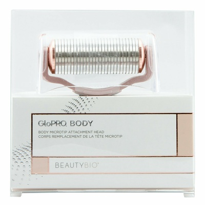 BeautyBio GLOPRO® BODY MICROTIP™ ATTACHMENT HEAD – Rose Gold