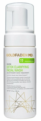 Goldfaden MD Detox Clarifying Facial Wash - AHA Nutrient Rich Treatment