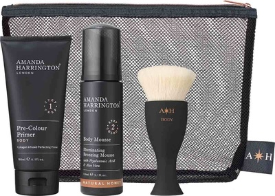 Amanda Harrington London Body Set Natural Olive